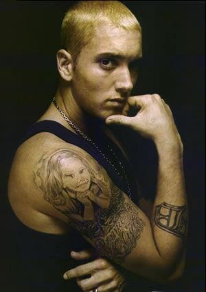 tatouage de eminem