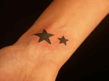 tatouage e poignet