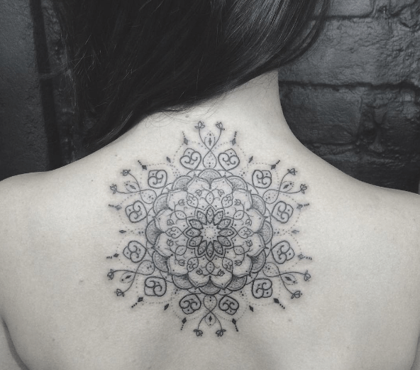tatouage en mandala