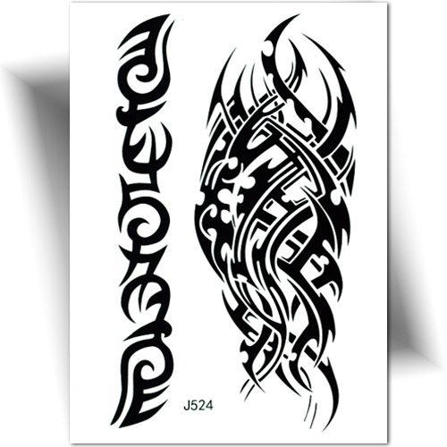 tatouage ephemere homme