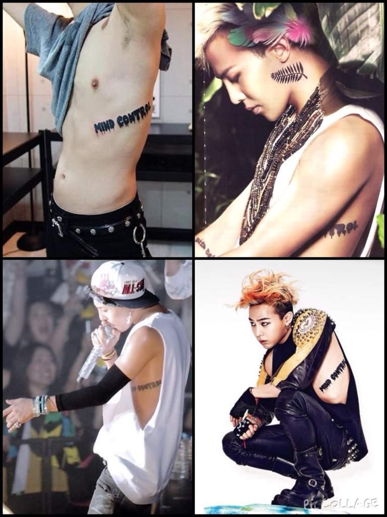 tatouage g dragon