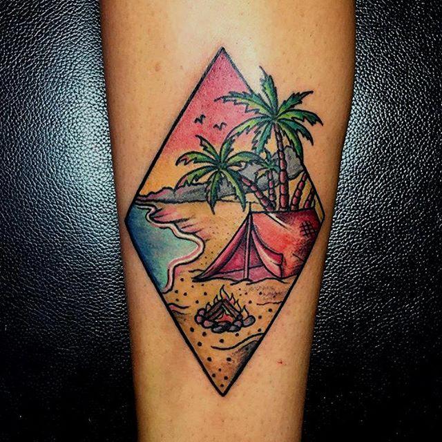 tatouage ile deserte
