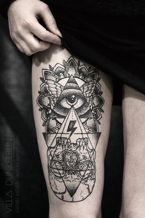 tatouage illuminati
