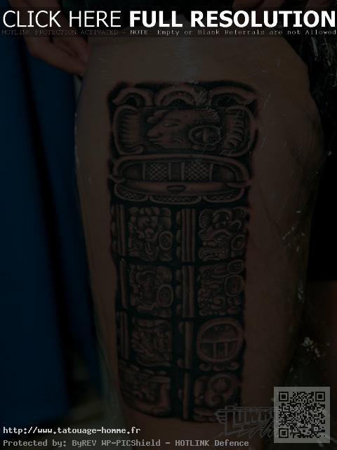 tatouage inca