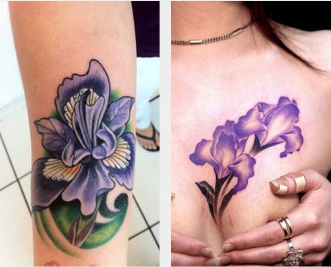 tatouage iris