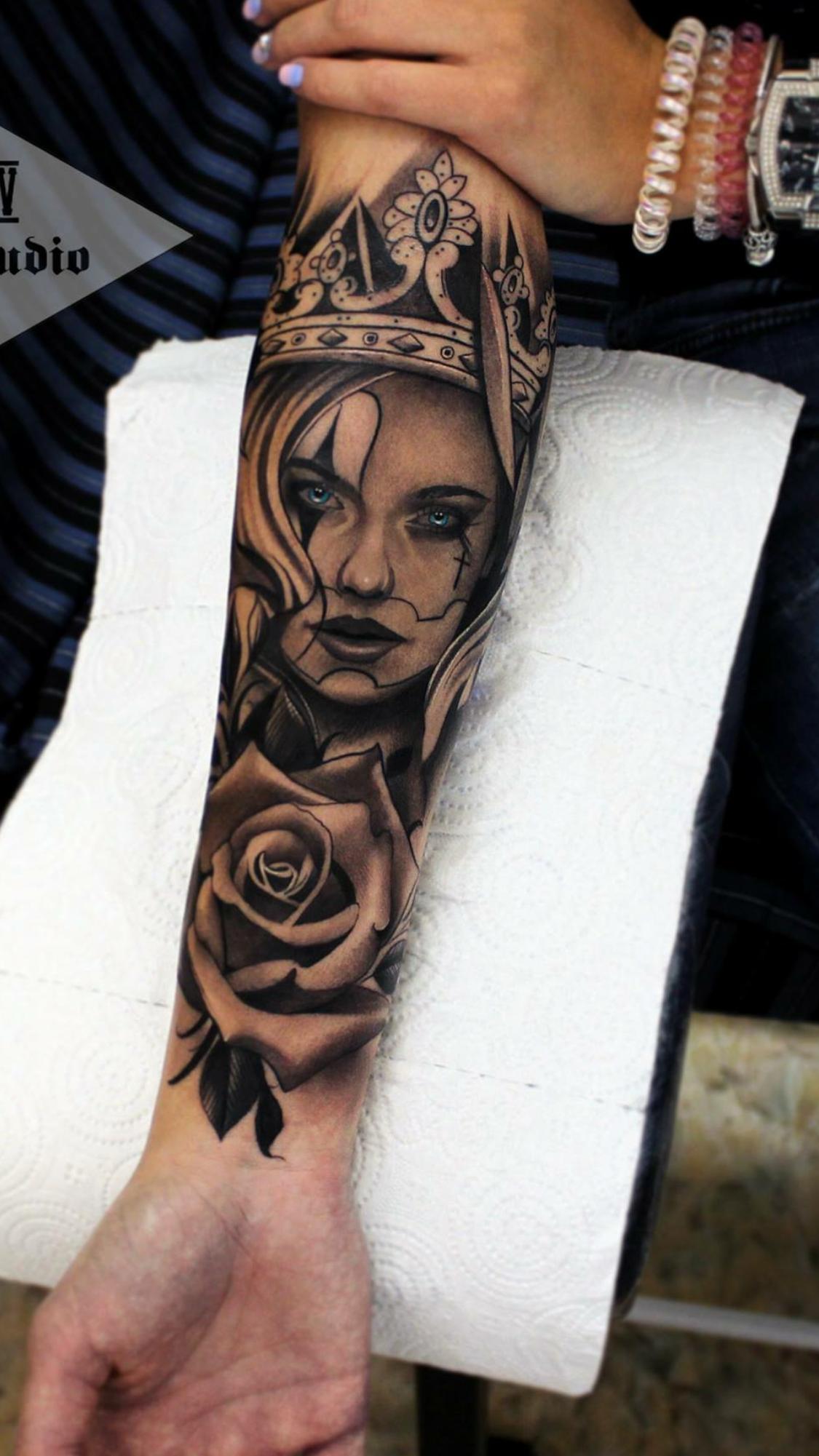 tatouage k avant bras
