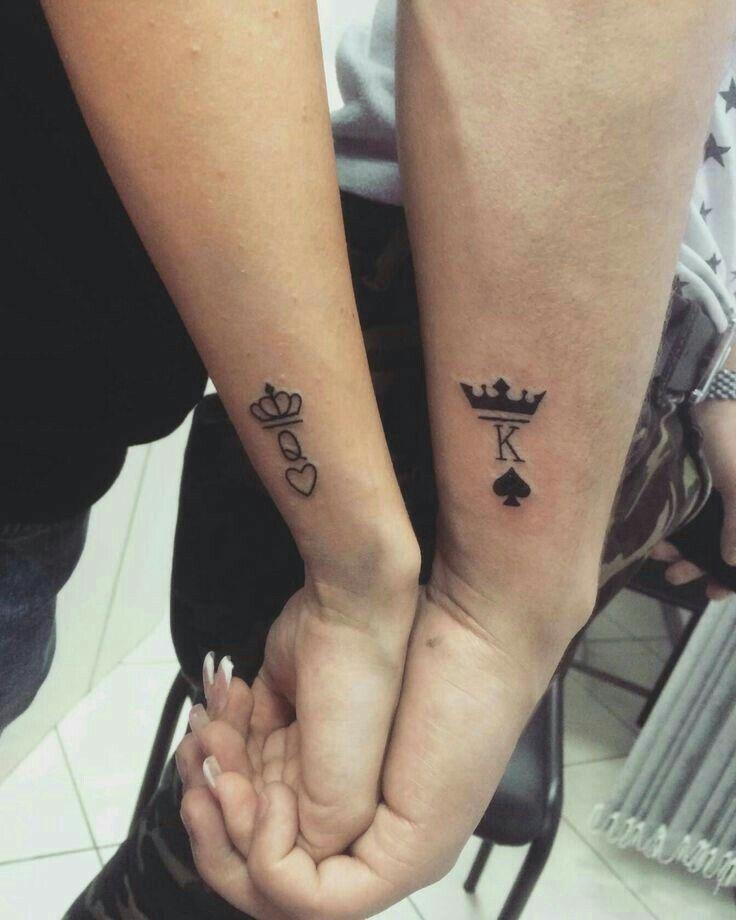 tatouage k et q