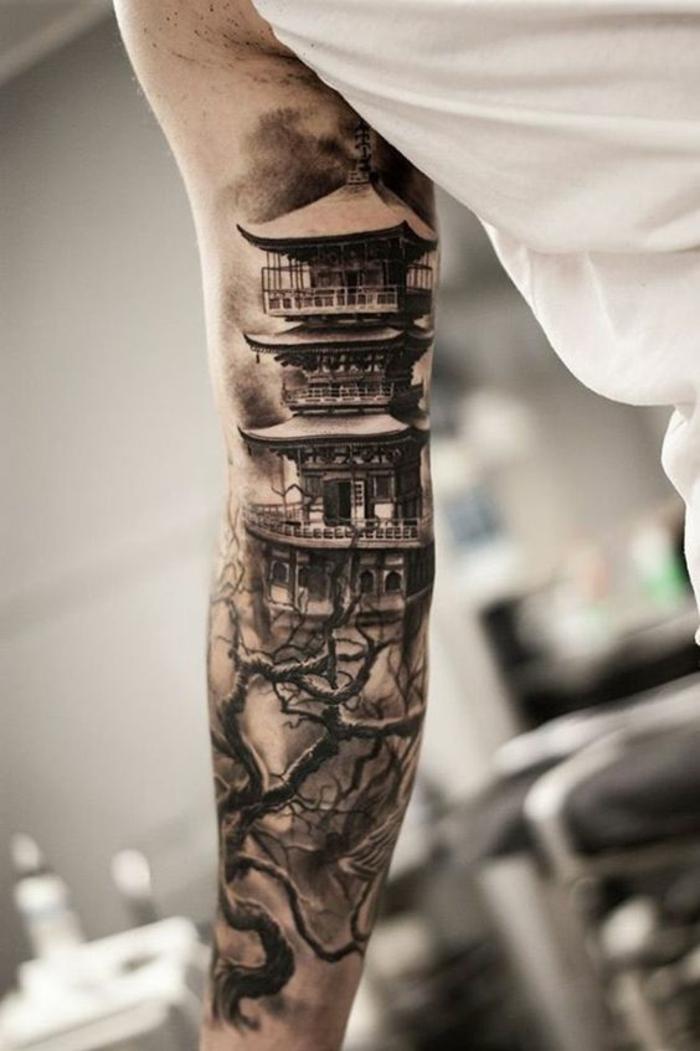 tatouage manchette homme