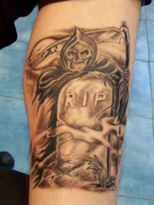 tatouage r.i.p