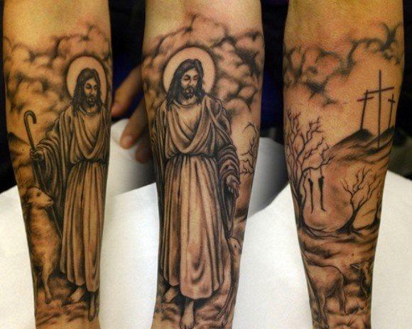 tatouage religieux
