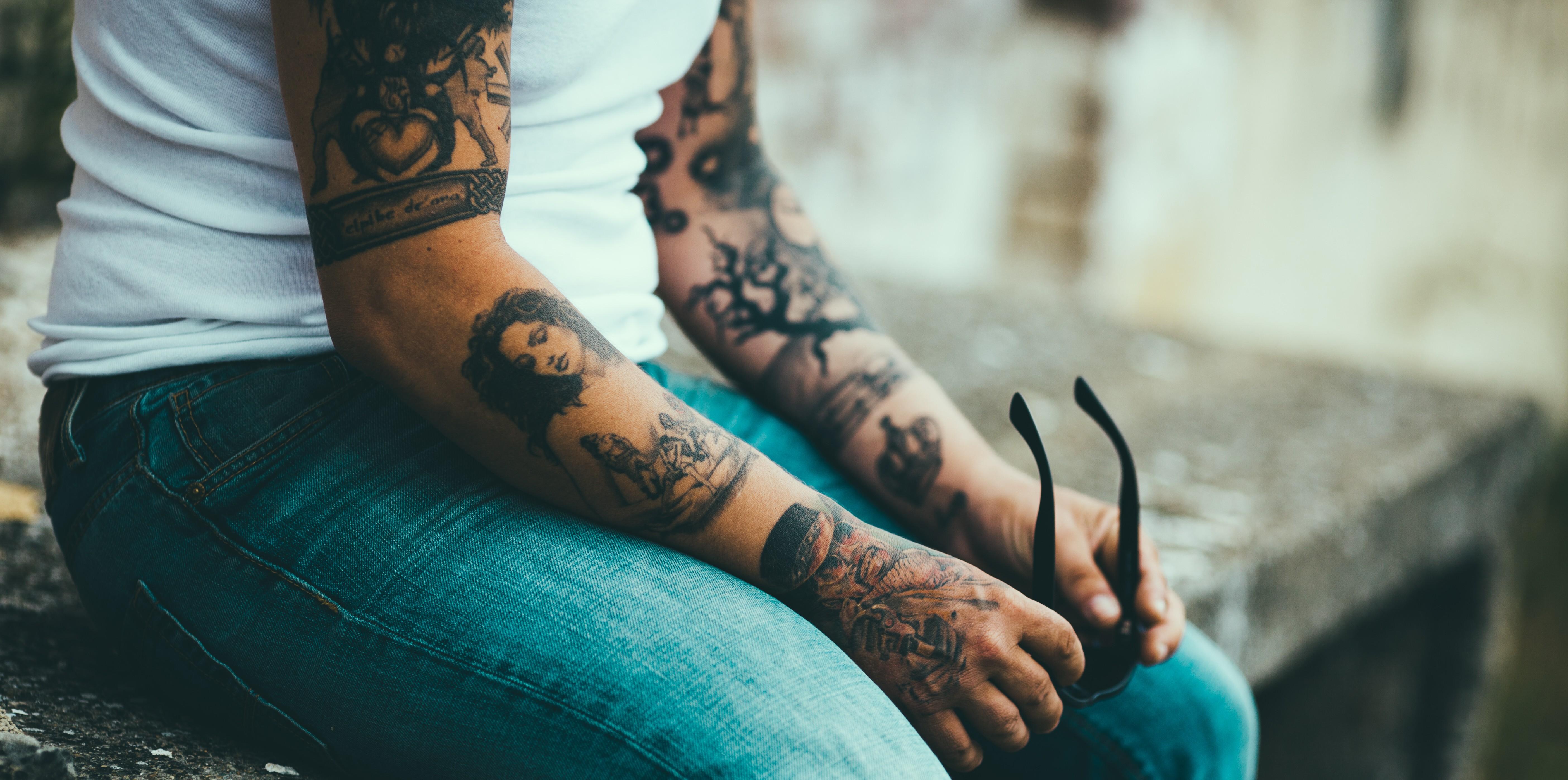 tatouage s'exposer au soleil
