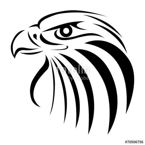 tatouage tribal aigle