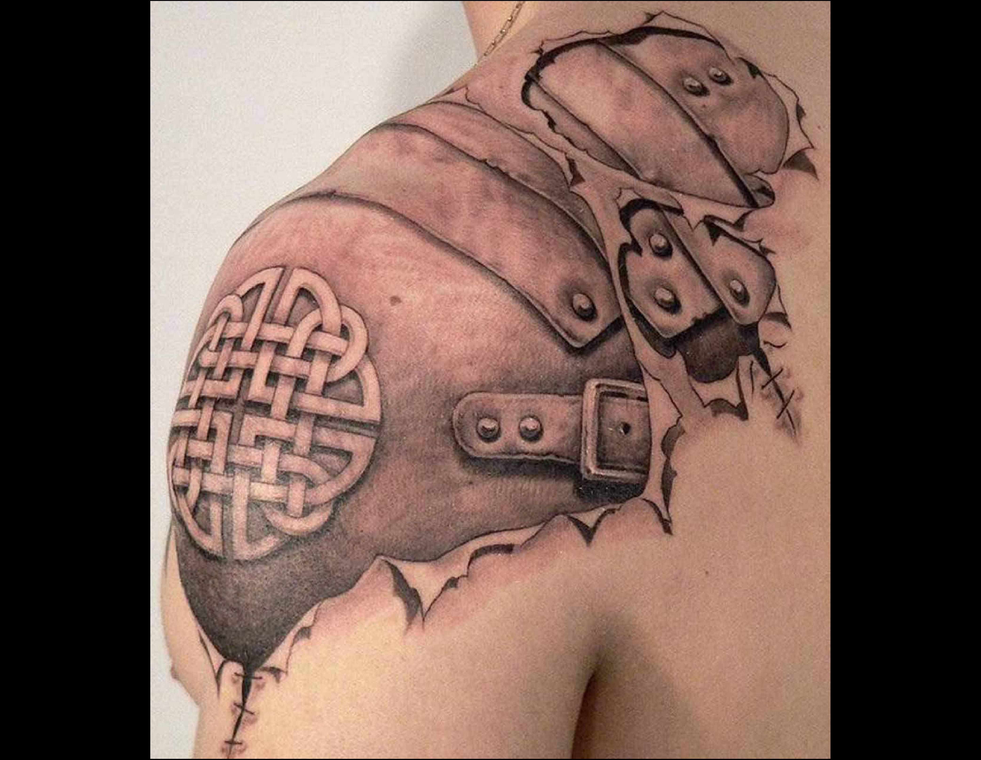 tatouage tribal celtique