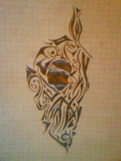 tatouage tribal corse