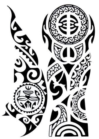 tatouage tribal ephemere