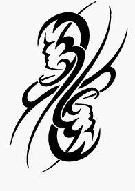 tatouage tribal gemeaux