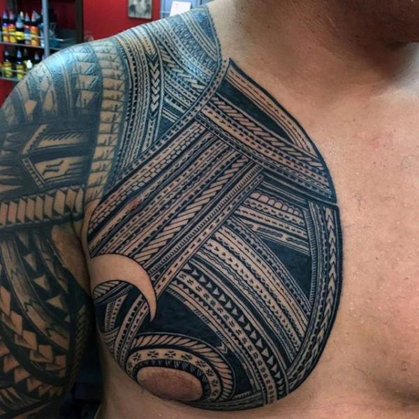 tatouage tribal samoan
