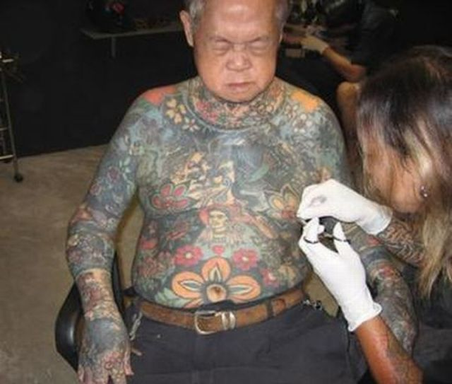 tatouage vieux