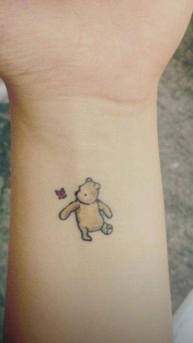 tatouage winnie