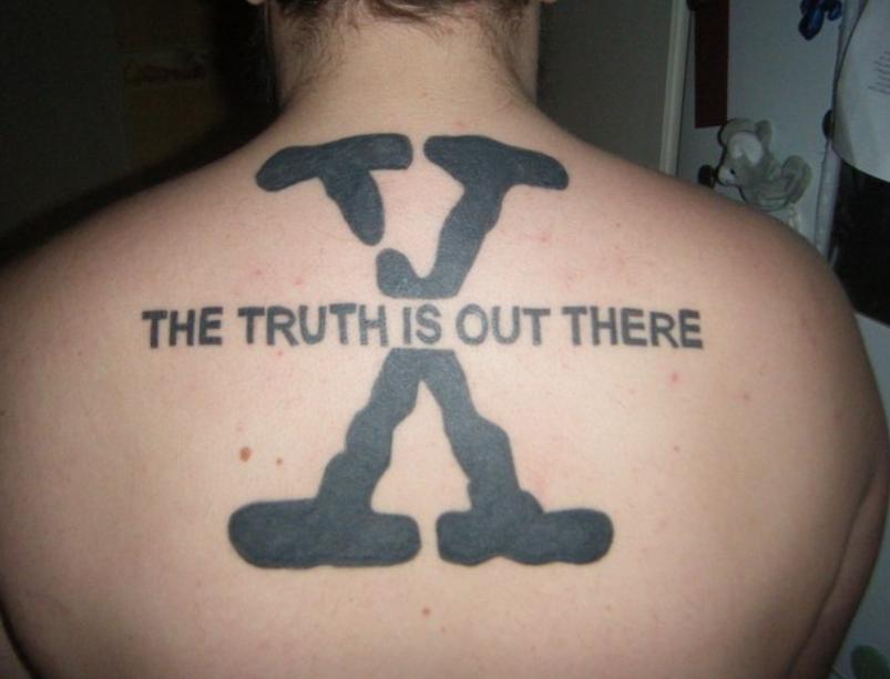 tatouage x files