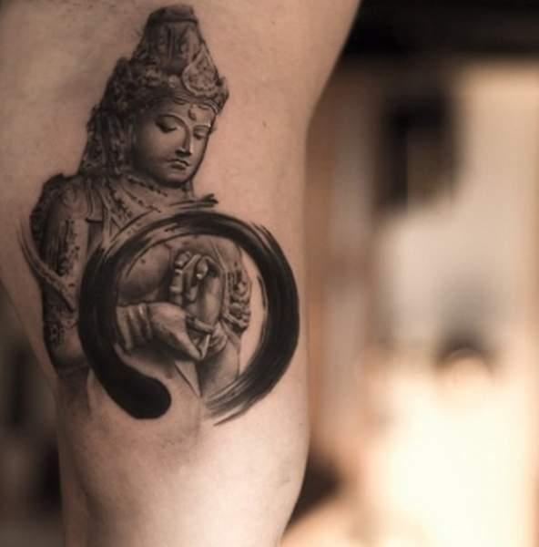 tatouage zen femme